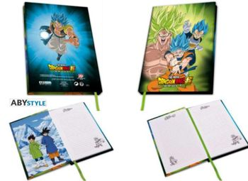 Dragon Ball Broly - Broly Vs Goku  Vegeta A5 Notebook