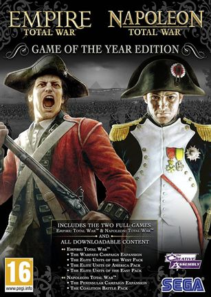 PC Empire and Napoleon Total War GOTY Edition
