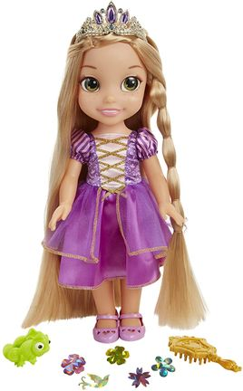 Disney Princess - Glow and Style Doll 38cm - Rapunzel