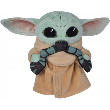 Star Wars: The Mandalorian - The Child (Baby Yoda) with Frog Plush, 20cm
