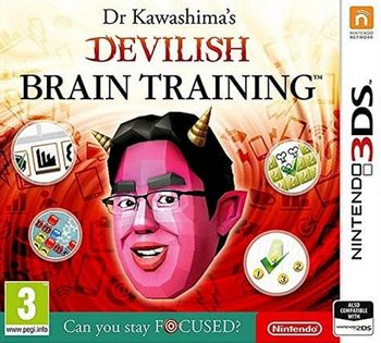 3DS Dr Kawashima's Devilish Brain Training: Can you stay focused?