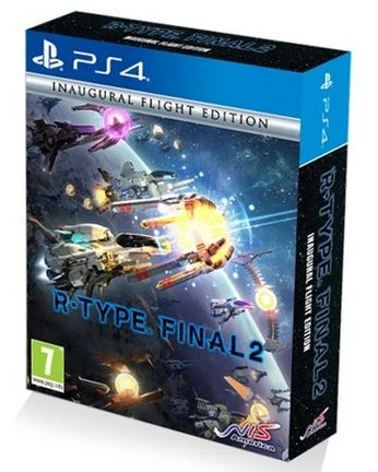 PS4 R-Type Final 2 Inaugural Flight Edition