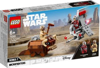 LEGO Star Wars T-16 Skyhopper™ vs Bantha™ Microfighters