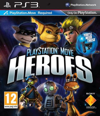 PS3 PlayStation Move Heroes [USED] (Grade A)