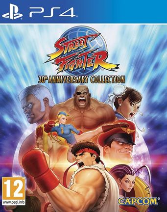 PS4 Street Fighter 30th Anniversary Collection [USED] (Grade A)