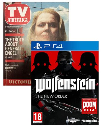 PS4 Wolfenstein: The New Order incl. Victory Day Special Art Book [USED] (Grade A)