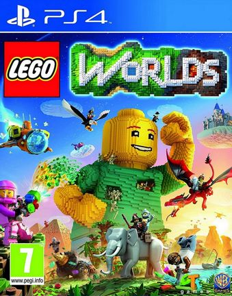PS4 LEGO Worlds [USED] (Grade A)