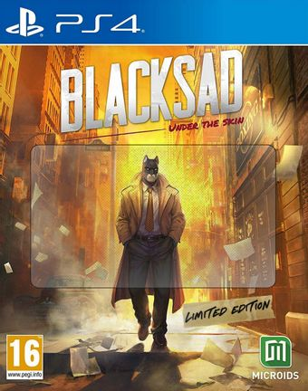 PS4 Blacksad: Under the Skin Limited Edition [USED] (Grade A)