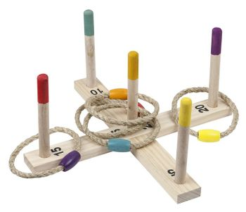Sprig Summer - Ring Toss Game Wood