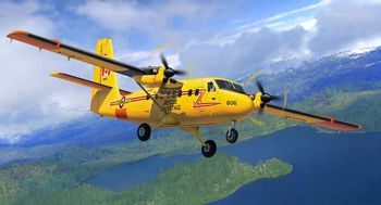 Revell plastic model DHC-6 Twin Otter 1:72
