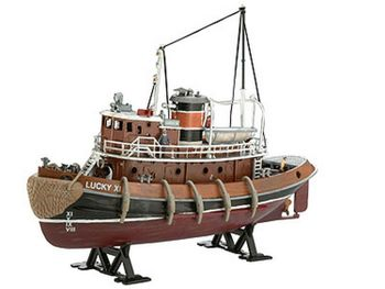 Revell plastic model North Sea Trawler 1:142