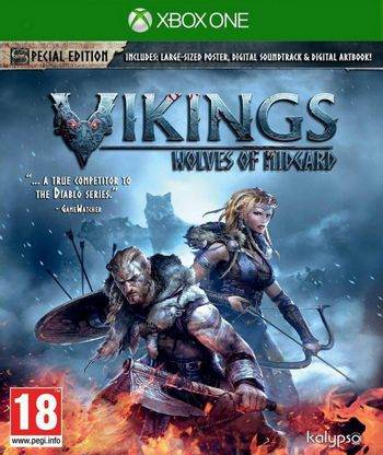 Xbox One Vikings: Wolves of Midgard [USED] (Grade A)