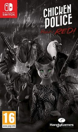 SWITCH Chicken Police - Paint it RED!