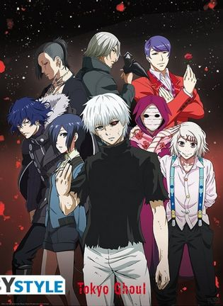 Poster Tokyo Ghoul - Group, 52x38cm