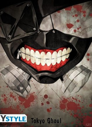 Poster Tokyo Ghoul - Mask, 52x38cm