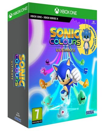 Xbox One Sonic Colours Ultimate Launch Edition incl. Keychain