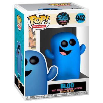 POP! Animation: Fosters Home for Imaginary Friends - Bloo Vinyl Figure