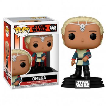 POP! Star Wars: The Bad Batch - Omega (Special Edition) Bobble-Head Figure