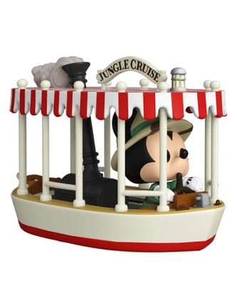 Pop! Rides: The World Famous Jungle Cruise Excursions Departing Daily - Mickey Jungle Cruise Vinyl F