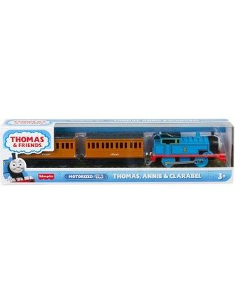 Fisher-Price Thomas  Friends Trackmaster: Trains With 2 Wagons - Thomas, Annie  Clarabel
