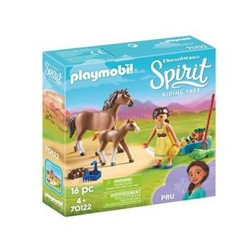 Playmobil Spirit - Pru with Horse and Foal (70122)