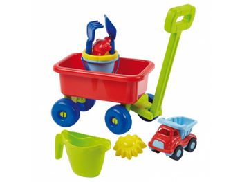 Ecoffier Beach cart with accessories