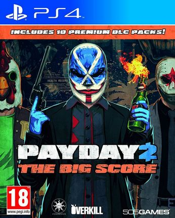 PS4 PAYDAY 2 [USED] (Grade A)