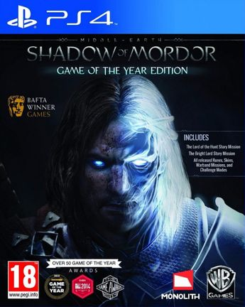 PS4 Middle-Earth: Shadow of Mordor GOTY Edition [USED] (Grade A)