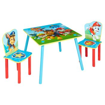 Paw Patrol - Kids Table and 2 Chairs Set