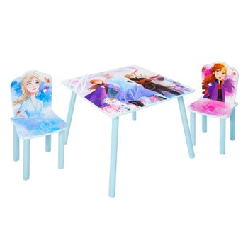 Disney Frozen - Kids Table and 2 Chairs Set