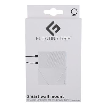 Xbox One wall mount by FLOATING GRIP, White