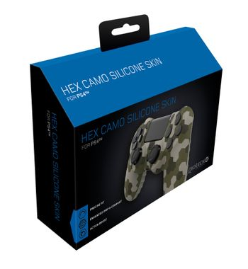 Gioteck Playstation 4 HEX Camo Silicone Skin
