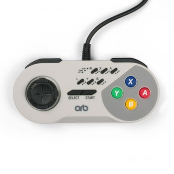 SNES Turbo Wired Controller (ORB)