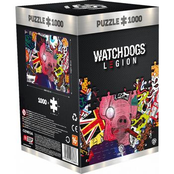 Good Loot Puzzle: Watch Dogs Legion - Pig Mask, 1000 Pieces