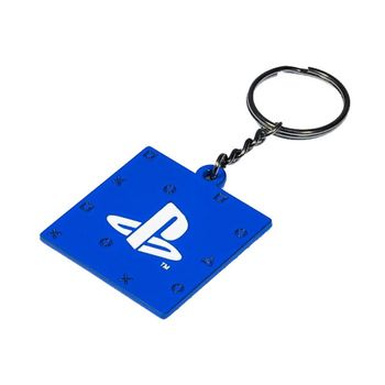 PlayStation - PS5 Plate Metal Keychain