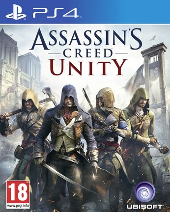 PS4 Assassin's Creed Unity incl. Russian Audio