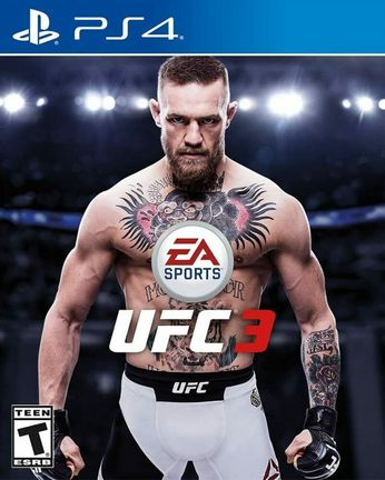 PS4 EA Sports UFC 3 US Version [USED] (Grade A)