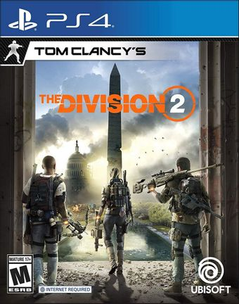 PS4 Tom Clancy's The Division 2 US Version [USED] (Grade A)