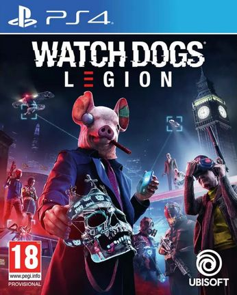 PS4 Watch Dogs Legion [USED] (Grade A)