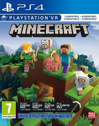 ps4 minecraft starter collection | sony