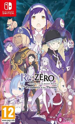 switch re:zero: starting life in another world - the prophecy of the throne | numskull
