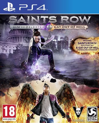 PS4 Saints Row IV: Re-Elected and Gat Out of Hell