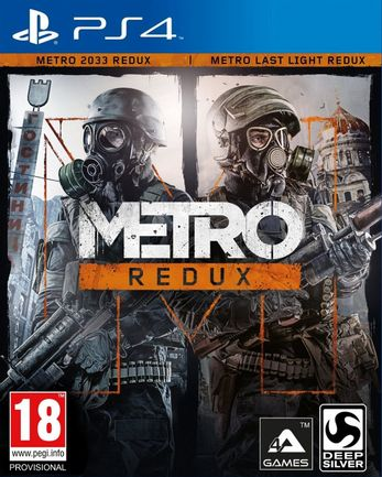 PS4 Metro Redux: 2033 and Last Light