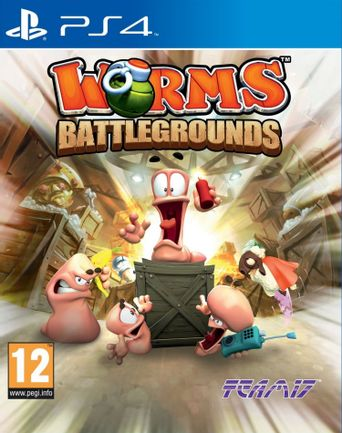 PS4 Worms: Battlegrounds