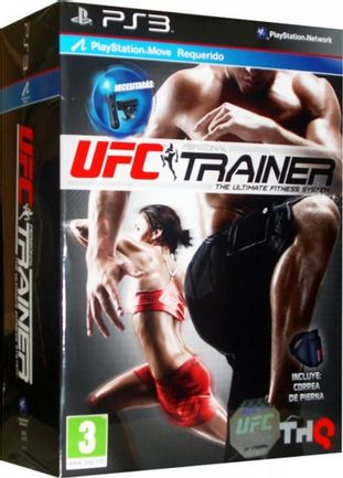 PS3 UFC Personal Trainer incl. Leg Strap