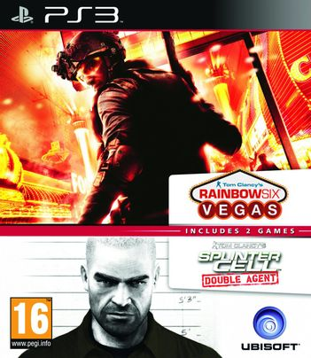PS3 Tom Clancy's Double Pack: Rainbow Six: Vegas, Splinter Cell: Double Agent
