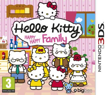 3DS Hello Kitty: Happy Happy Family