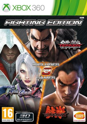 Xbox 360 Fighting Edition: Tekken 6, Tekken Tag Tournament 2, Soul Calibur V