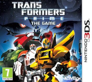 3DS Transformers: Prime - The Game