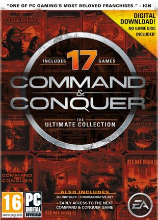 PC Command and Conquer The Ultimate Collection - Digital Download